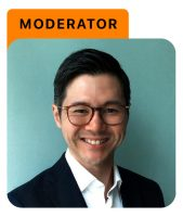 Photo of Marcus Loh with moderator title