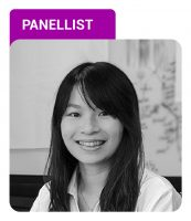 Photo of YuRong Cheng with Panellist label in purple